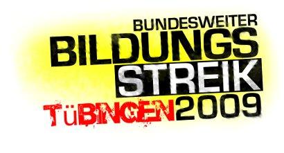 der bundesweite Bildungsstreik in Tübingen