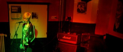 Da geht der Punk ab: 'Biestig' rockten am 6. Januar 2011 bereits zum zweiten Mal das Haus. Bild: Timo Versemann